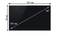 Плазменная (LED) ЖК панель 42 дюйма (107 см)