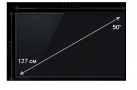 Плазменная/(LED) ЖК панель 50 дюймов (127 см)