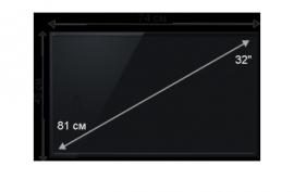 Плазменная/(LED) ЖК панель 32 дюйма (81 см)