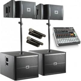 Комплект звука Full Kit (5000 Вт) на зал от 300 до 500 человек