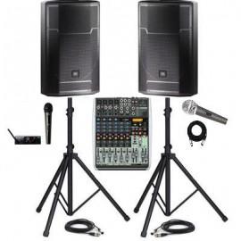 Комплект звука COMPACT BOOSTED (1500 Вт) на зал от 80 до 200 человек