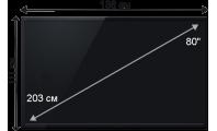 Плазменная (LED) ЖК панель 80 дюймов (203 см)