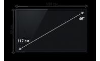 Плазменная (LED) ЖК панель 46 дюймов (117 см)