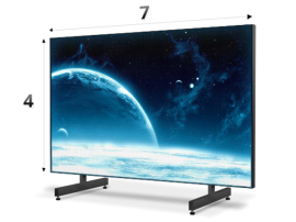 Экран 7 х 4 м