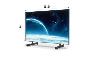 Экран 5.5х3 м