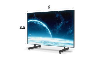 Экран 6x3.5 м