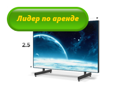 Экран 4 х 2.5 м