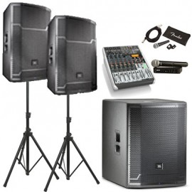 Комплект звука Full Kit - mini (3000 Вт) на зал от 200 до 300 человек
