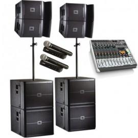 Комплект звука Power (10 000 Вт) на зал от 500 до 1000 человек