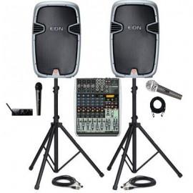 Комплект звука COMPACT (600 Вт) на зал от 40 до 80 человек